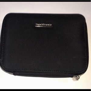 bareMinerals Black Zip Cosmetic Travel Case Mirror